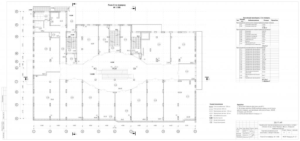 ТРК Фонтан план 2-го поверху